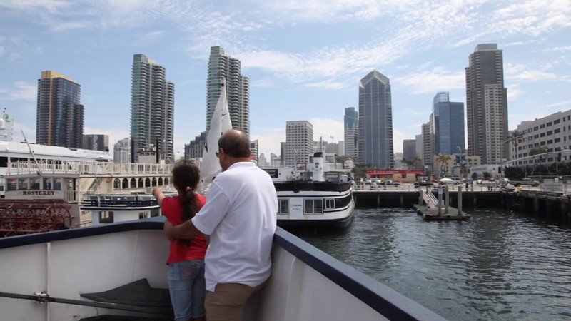 Now, please join us for a ferry ride across the bay to Coronado Island!