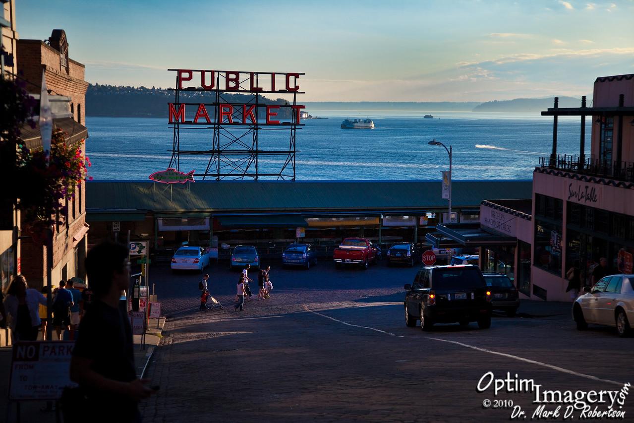 Pike Market in Seattle.