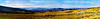 """We spent the night in Vernal, Utah.  The next day found us headed up Highway 191, which was another pleasant surprise.  Here you see a panorama made up of 19 photos, looking south toward Vernal.  The white stuff you see in patches to the right has to do with phosphate mining.  As with all the photos, you can view it at full size if you hover your cursor over the photo and then click on """"Original"""" on the pop-out menu (for original size).  It takes a while for the full size photo to load, but you will have incredible detail.  You will need to navigate using the sliders on the bottom and right side of your screen (the photo will not fit on your screen unless you have a huge one).  <br /> <br /> One kind of funny thing you can find:  While it's amazing how well PhotoShop deals with these panoramas, there are some places you can tell that it is not just one shot.  For instance, if you follow the fence, you will see a few places where the wires just don't quite match up.  But, you do have to look pretty closely to find those things.<br /> <br /> When you are ready to return to the Smug Mug layout, just click on the original-size photo."""