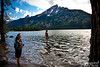 A very quick visit to South Jenny Lake.