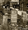 """Nice to have some entertaining surroundings at the public restrooms.<br /> In case you can't read the tomb stones:  """"LOLA FENT -- KICKED UP HER HEELS AND AWAY SHE WENT""""<br /> """"R.I.P. -- I TOLD YOU I WAS SICK""""<br /> """"HERE LIES Lester Moore.  TOLD A LIE.  NO LES.  NO MORE."""""""