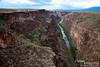 Dedicated September 10, 1965, the Rio Grande Gorge Bridge is the 5th highest bridge in the United States.  The 1,280-foot span is 650 feet above the Rio Grande.