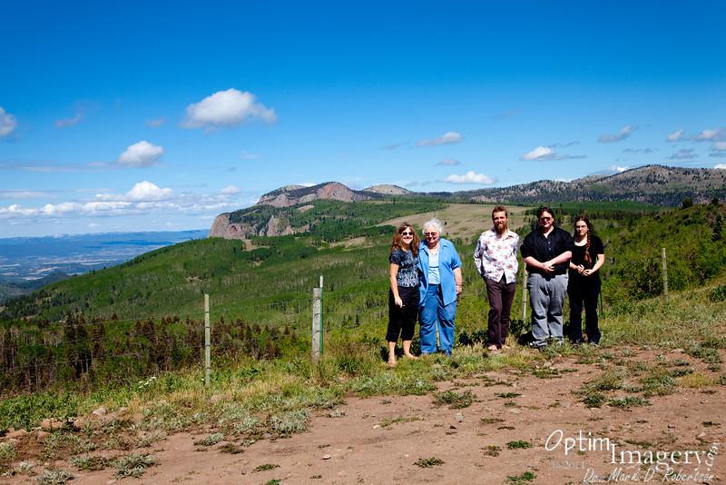 Brazos Cliffs, north-central New Mexico.