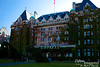 """The Fairmont Empress Hotel opened January 23, 1908.  It is considered one of the most recognized landmarks in Victoria.  Checking on the internet, I'm really a bit surprised at the prices for staying here:  A room for 2 apparently runs about $170 per night.  Not cheap, I know, but with this being such a famous place, I expected more.<br /> <br /> It is also widely known for afternoon tea.  It's my understanding that one must generally reserve a space about 2 weeks in advance.  The """"tea"""" basically includes a meal, and runs about $60 per person (Canadian).  By the way, I have never stayed here, nor have I had the afternoon tea.  It does sound like fun, though.......Maybe next time!<br /> <br /> See their web site at    <a href=""""http://www.fairmont.com/empress/"""">http://www.fairmont.com/empress/</a>  to learn more and to reserve your room and tea time!"""
