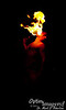 Fire dancer!