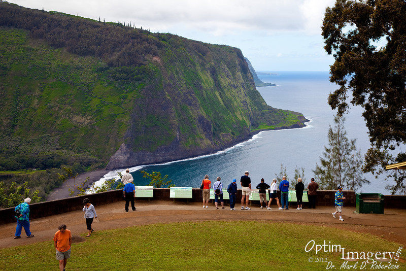 Waipio Valley overlook.  Spectacular view down onto an area still considered to be sacred by many.