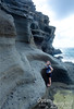 The cliff formation on the east side of the beach is pretty interesting.