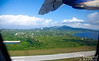 Lift off from SPN.  Looking north, you see Mount Tapochau (the highest point on Saipan, at 1555 feet).