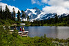 Mount Shuksan from Picture Lake.  Gee, I wonder how the lake got that name? ;-)