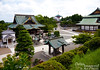 Looking down at some of the temple grounds.  The old Main Hall with the aged copper roof to your left, Daitō in the distance, and the Great Hall barely visible to your right.