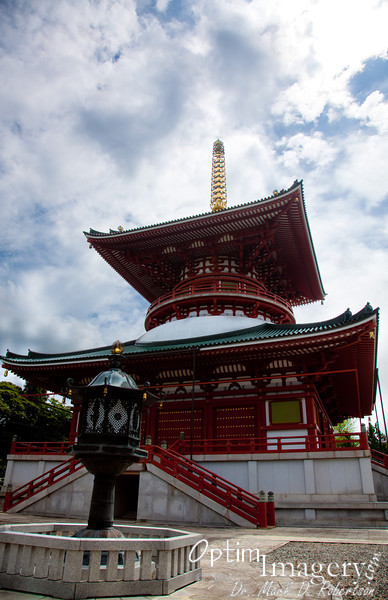 "Daitō, or ""large pagoda,"" built in 1984."