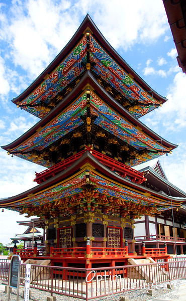 3-story pagoda, built in 1712.
