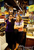 Bev and Bri enjoy shopping and talking among the rest of the treasures at Ye Olde Curiosity Shoppe.
