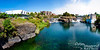 Panorama showing Upper Spokane Falls, with Anthony's Seafood Restaurant to your left.