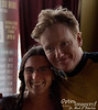Yep:  This really IS Conan O'Brien!  He happened to be in Elysian Brewery in Seattle when we hit the place.  He exited quite quickly after we came in, however.