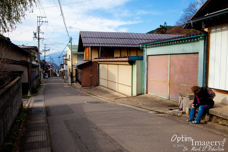 For our second trip to the monkey park, we decided to walk back to Shimaya Ryokan.  I would guess it's somewhere around 5 miles.