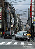 A typical Gion sidestreet. I think that people selling copper wire probably made a killing