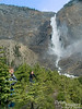 """This has got to be one of my all time favorite waterfalls, and I am a waterfall lover.  Takakkaw is a Cree word for """"It is magnificent,"""" and this, my friend, is Takakkaw Falls."""