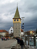 Tha Mangturm was Lindau's original lighthouse and watchtower prior to the harbor being built. In fact, this tower was built in the 1200's! Don't you just love that tile work?!