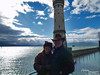 Thanks, Bri. Good shot. I like how you got the contrast between the Bodensee waters and the calm waters of the Harbor. I guess Bev and I are on appropriate sides for this shot.