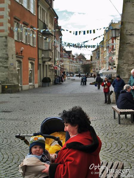 Little Bavarian and Lindau street.