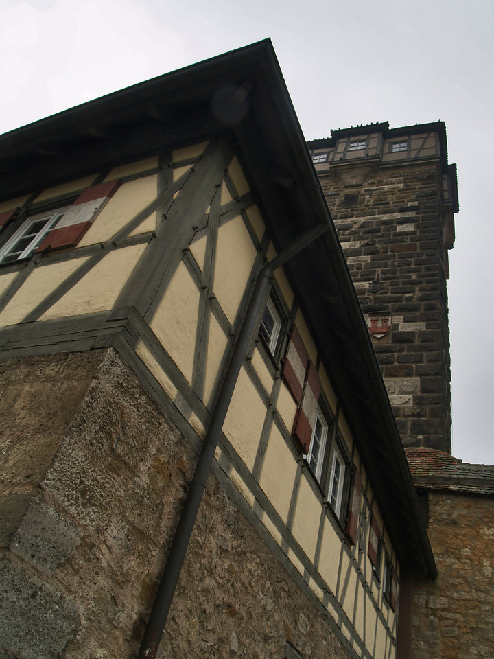 One of the watch towers.