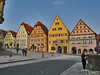 CITY SQUARE:  ROTHENBURG ob der TAUBER