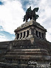 One more view of William I. Better sky in the background than before. Wow! The weather has certainly changed since our first day in Trier!