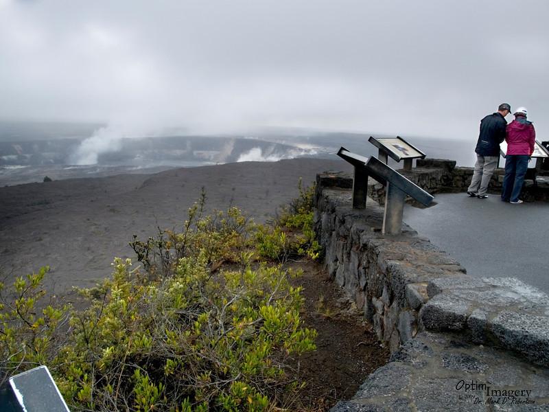 Halema'uma'u is considered to be the mythical home of Pele, goddess of fire, goddess of the volcano.