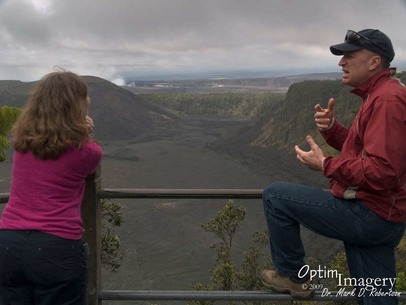 """Kilauea Iki crater entered an eruptive phase in which it had 16 episodes in November and December, 1959.  Mysteriously, magma would flow up here and form spectacular fountains, then would reverse its flow, quickly drain away, and disappear.  For more, see   <a href=""""http://hvo.wr.usgs.gov/kilauea/history/1959Nov14/#episodes"""">http://hvo.wr.usgs.gov/kilauea/history/1959Nov14/#episodes</a>"""