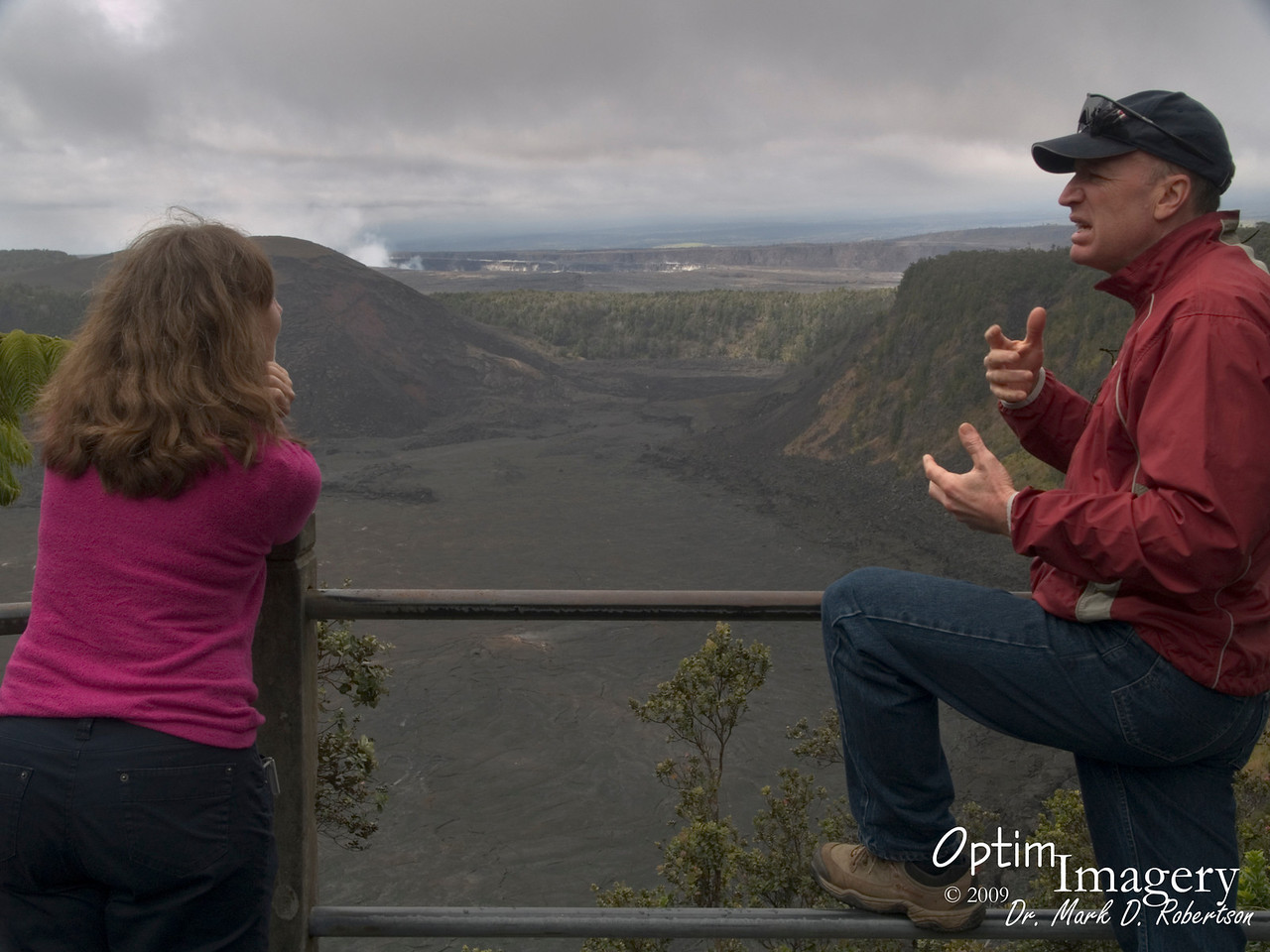 "Kilauea Iki crater entered an eruptive phase in which it had 16 episodes in November and December, 1959.  Mysteriously, magma would flow up here and form spectacular fountains, then would reverse its flow, quickly drain away, and disappear.  For more, see   <a href=""http://hvo.wr.usgs.gov/kilauea/history/1959Nov14/#episodes"">http://hvo.wr.usgs.gov/kilauea/history/1959Nov14/#episodes</a>"