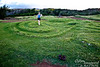 Another labyrinth, this one near the extreme northwest tip of Maui.
