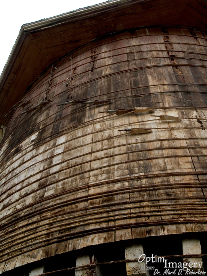 Looking up at the water tank.  Still to come:  Exploring the area around Red River, New Mexico!  Don't miss it!