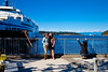 Then, up to Nanaimo and Departure Bay to catch a ferry across to Horseshoe Bay and the mainland (Vancouver).
