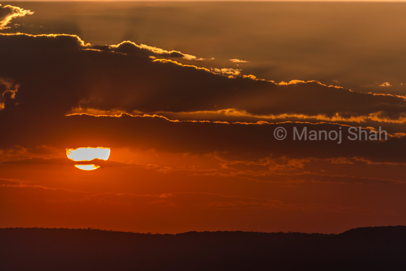 Sunrise on the Mara plains in Msai Mara.