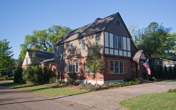 This historic home is located in a prime real estate area and sits on a desirable corner lot.