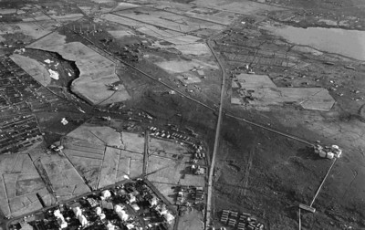 Gamli golfvöllurinn og nágrenni hans 1947
