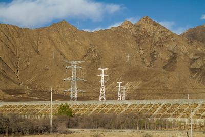004 Tibet power grid © Bickerstaff