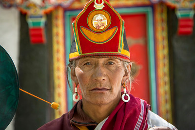 042 Monk at Luhkang Temple © Bickerstaff
