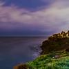 Lightning in California looking towards Santa Monica California