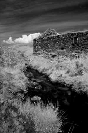 Ruin of Glen Astle Mill, Isle of Islay, Scotland. 2011