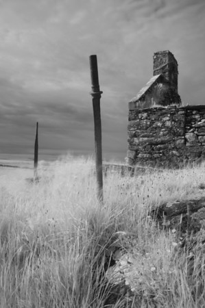 Creag Mhor Ruin, Isle of Islay, Scotland. 2011