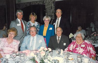 ?, Ann ?, Marylyn Kenny?, Bob/Bill Kenny?, Josephine McGrath, Gilbert McGrath, George & Mamie Dieterle?