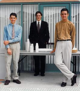 Mario Lapp, Ben Robles, and Sean Barnes