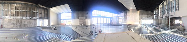 Panoramic view from altar area 5/28/15