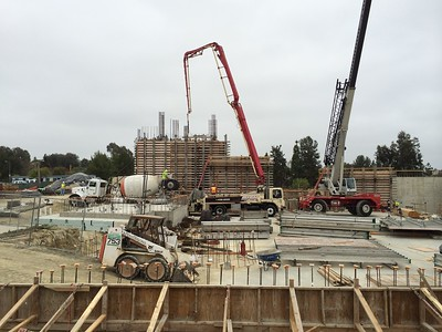 Concrete for tower walls 4/17/14