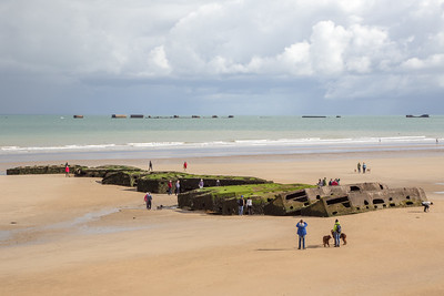 Arromanches - Mulberry Harbour