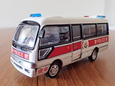 3 Toyota Coaster Minibus HK Police