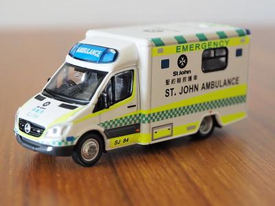 38 Hong Kong St. John Mercedes-Benz Sprinter Ambulance