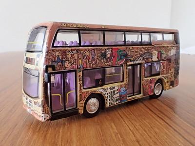 63 KMB Enviro 400 'Artbus'